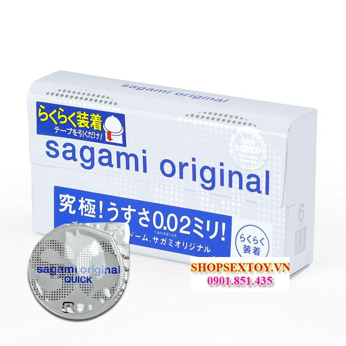 BCS03- Bao cao su Sagami Original