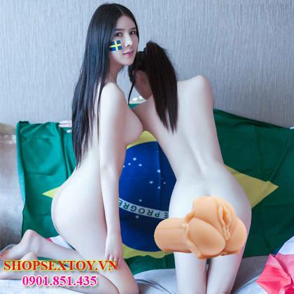 AD01- Âm đạo Silicon làm tình sướng cùng em gái mới lớn