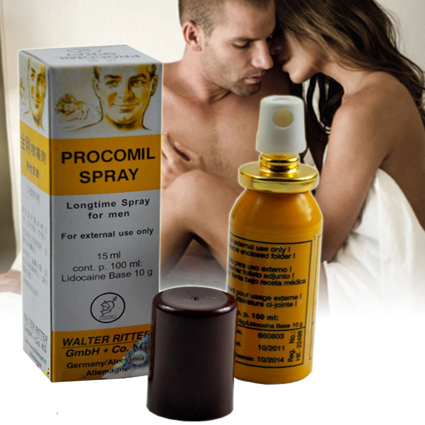 TH09- Procumil thuốc xịt kéo dài thời gian quan hệ cho nam giới