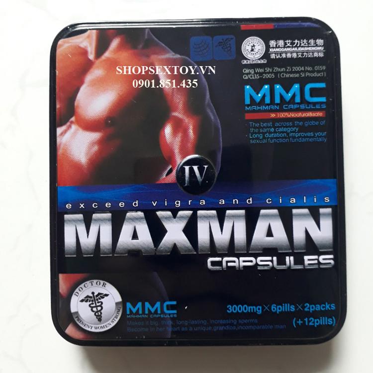 SL29- Thuốc Cường Dương MaxMan XI 3000mg