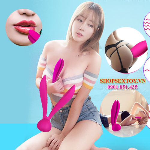 DC84 – Massage điểm G tai thỏ Letten Rabit Massager