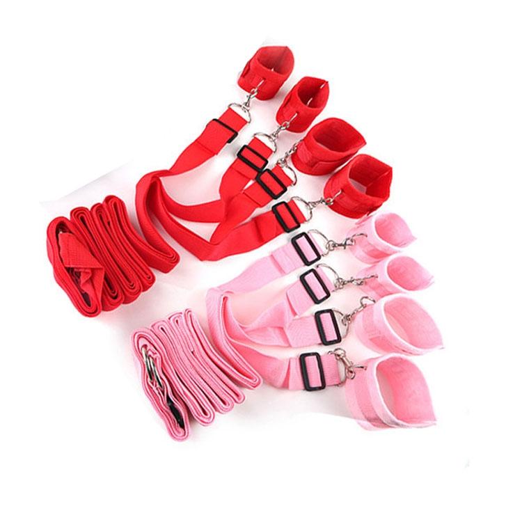 BZ02C- Bộ trói chân tay 4 góc dường có lót bông